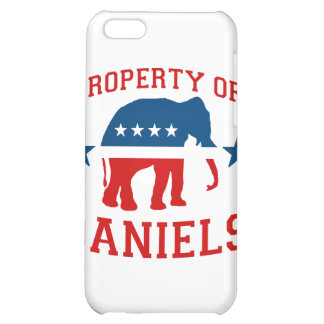 PROPERTY OF MITCH DANIELS iPhone 5C COVERS