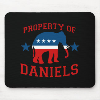PROPERTY OF MITCH DANIELS MOUSE PAD