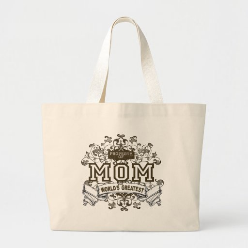 Property of MOM Large Tote Bag