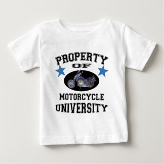 Property Of Motorcycle University Baby T-Shirt