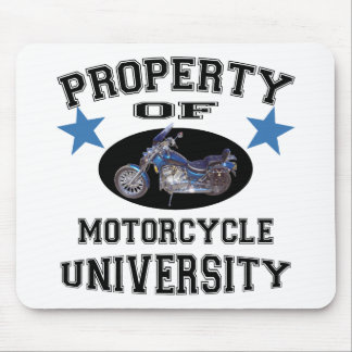 Property Of Motorcycle University Mouse Pad