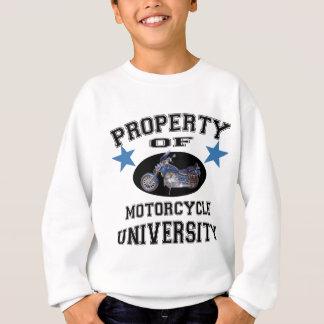Property Of Motorcycle University Sweatshirt