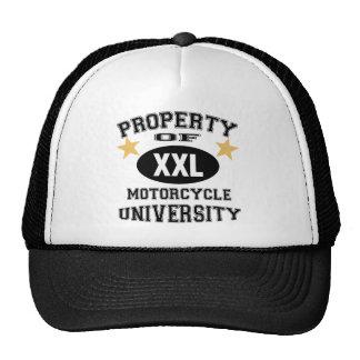 Property Of Motorcycle University Trucker Hat