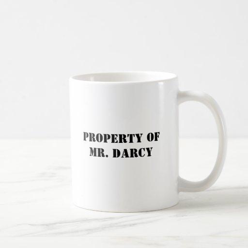 Property of Mr. Darcy Mugs