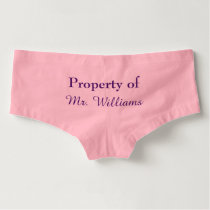 Property of Mr. Panties