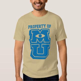 Property of MU Logo T Shirts