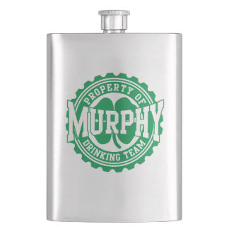 Property of Murphy Drinking Team Flask