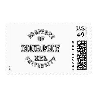 Property of Murphy University Postage