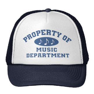 Property Of Music Department Mesh Hat