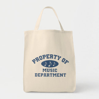 Property Of Music Department Tote Bag