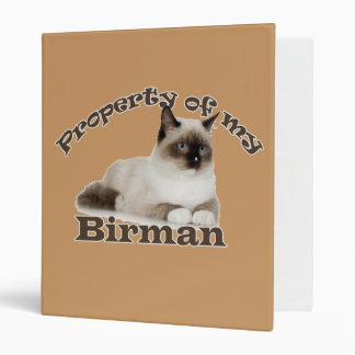 Property of My Birman Binder