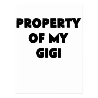 property of my gigi.png post card