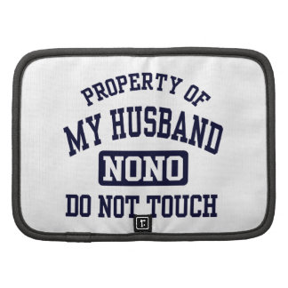Property of my Husband Folio Planner
