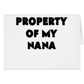 property of my nana.png card