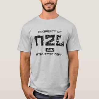 Property of N2L Athletic Dept. (GREY) T-Shirt