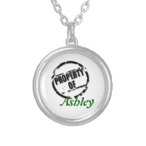 Property of Name Necklace
