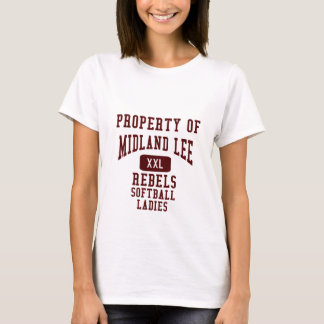 Property Of_Name_Plate, Midland _Lee_Name_Plate... T-Shirt