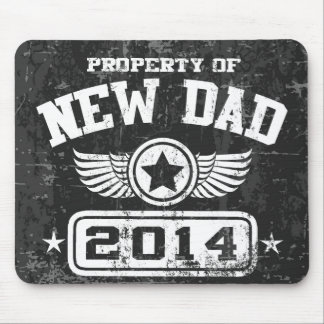 Property Of New Dad 2014 Mouse Pad