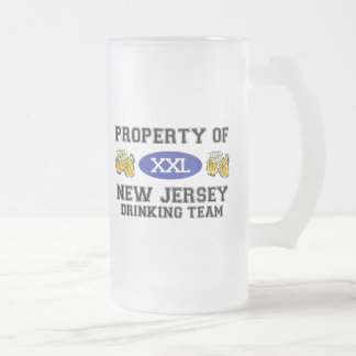 Property of New Jersey Drinking Team Mug