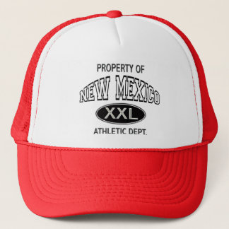 PROPERTY OF NEW MEXICO ATHLETIC DEPT. TRUCKER HAT