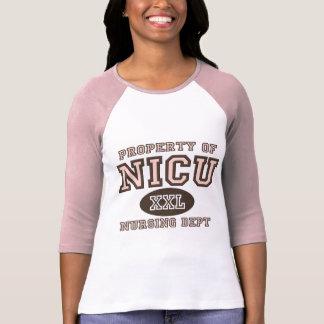 Property Of NICU Nurse Raglan Tee