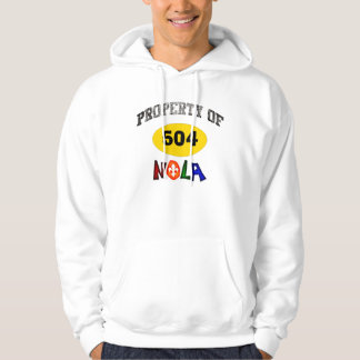 PROPERTY OF NOLA NEW ORLEANS LOUISIANA GRAPHIC HOODIE