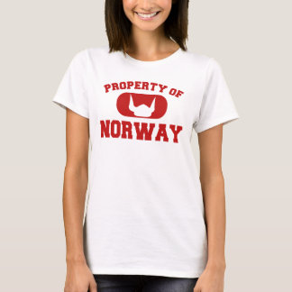 Property of Norway Design T-Shirt