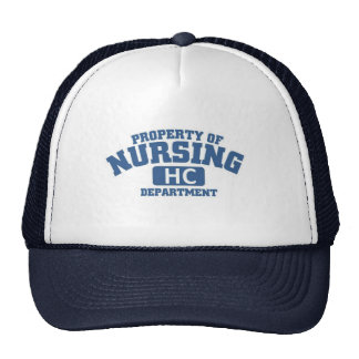 Property of Nursing Trucker Hat