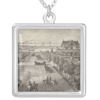 Property of NW Morris, Sea View, NJ Silver Plated Necklace