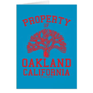 Property of Oakland Cards