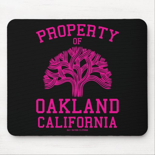 Property of Oakland Mouse Pad