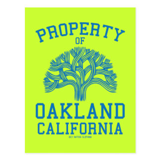 Property of Oakland Post Cards