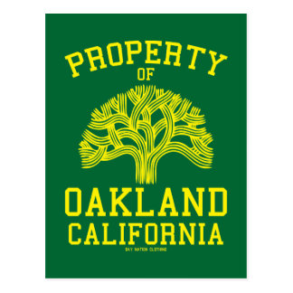 Property of Oakland Postcard