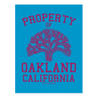 Property of Oakland Post Card