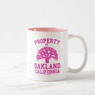 Property of Oakland Two-Tone Coffee Mug