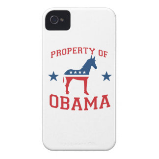 PROPERTY OF OBAMA -.png iPhone 4 Case