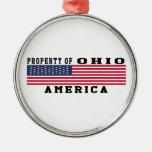 Property Of Ohio Ornament