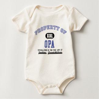 Property of Opa Baby Bodysuit