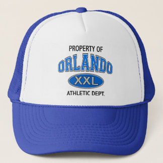 PROPERTY OF ORLANDO ATHLETIC DEPT. TRUCKER HAT