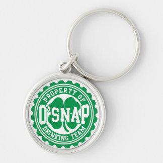 Property of O'snap Irish Drinking Team Keychains