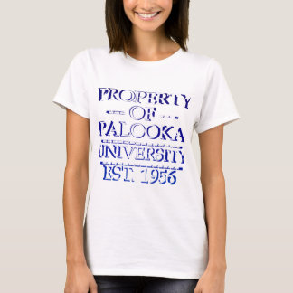 Property of Palooka University White w/ Indigo T-Shirt
