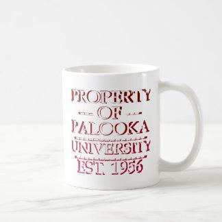 Property of Palooka University White w/ Maroon Coffee Mug