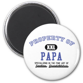 Property of Papa Refrigerator Magnets