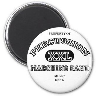 Property of Percussion 2 Inch Round Magnet