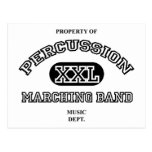 Property of Percussion Post Card