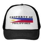 Property Of Philippines Trucker Hat