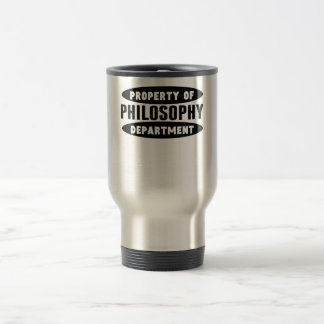 Property Of Philosophy Department 15 Oz Stainless Steel Travel Mug