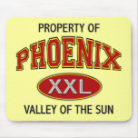 PROPERTY OF PHOENIX VALLEY OF THE SUN MOUSEPADS