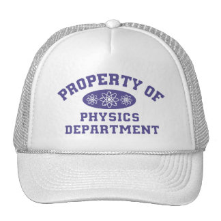 Property Of Physics Department Cap
