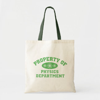 Property Of Physics Department Tote Bag